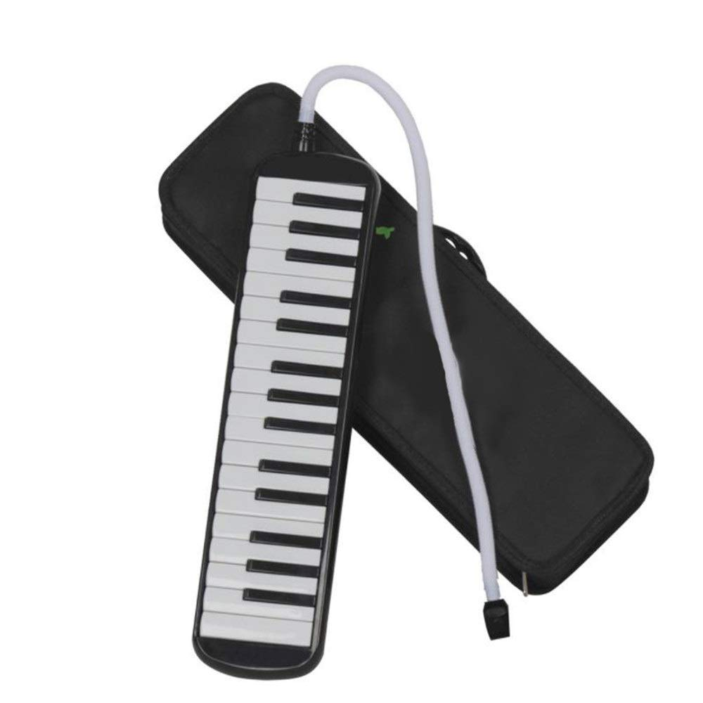 Melodica Harmonica Instrument Air Piano Keyboard Cartoon Kids Piano Keyboard Style Melodica Durable ABS 32 Keys With Portable Carrying Case Kids Musical Instrument Gift Toys For Music Lovers Beginners by UTTHB