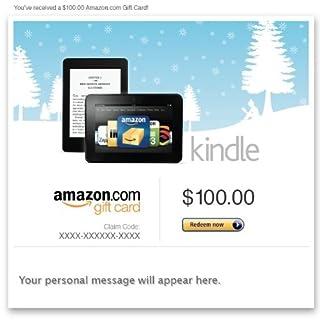 Amazon eGift Card - Amazon Kindle (Holiday) (B00ACA3UB4) | Amazon price tracker / tracking, Amazon price history charts, Amazon price watches, Amazon price drop alerts