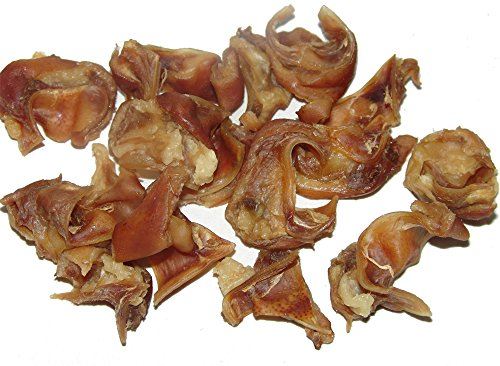 Pig Ear Pieces, 20 Pack,Sourced and Made USA, All Natural by Sawmill Creek Smokehouse (Image #2)