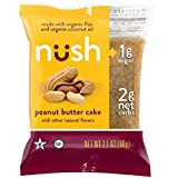 Organisch Low Carb Keto Snack Cakes - Peanut Butter Paleo Friendly, Gluten Free, No Sugar Added, Certified Kosher - 6 Pack