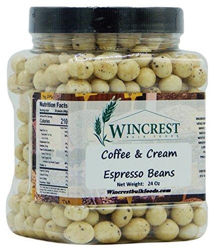 Chocolate Espresso Beans - 1.5 Lb Tub (Coffee & Cream) -