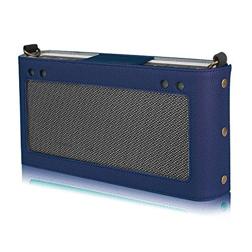 Fintie Bose SoundLink Bluetooth Speaker III Hülle Abdeckung - Hochwertiges Kunstleder Schutzhülle Tasche Case mit Abnehmbarem Band für Bose SoundLink Bluetooth Speaker III 3, Marineblau