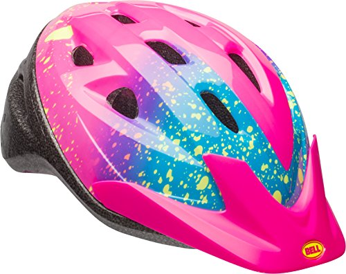 Bell Child Rally Bike Helmet - Pink Splatter Stella
