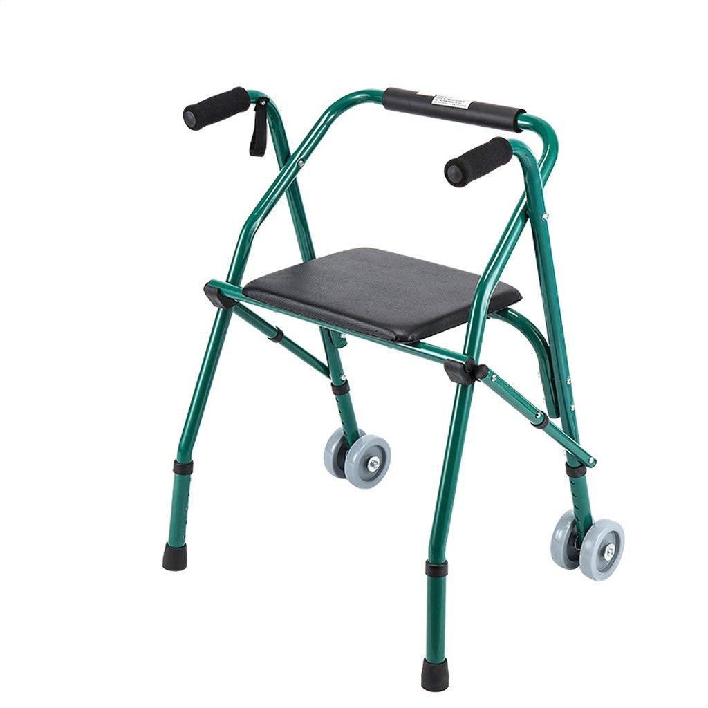 Andador Plegable de Cuatro Patas Persona con discapacidad bastón ...
