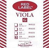 Super Sensitive Viola Strings