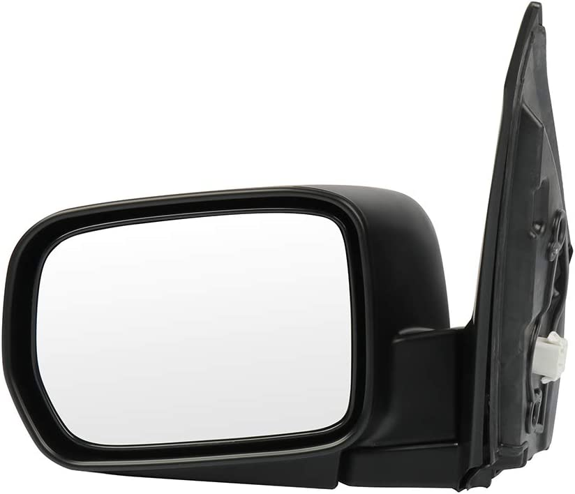 SCITOO Driver Left Side Mirror Flat Side View Mirror Fits for 2003-2008 Honda Pilot Power Control Heated Manual Folding 76250S9VC11ZA HO1320225