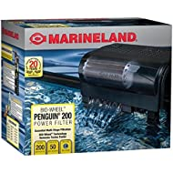 Marineland Penguin 200, Power Filter, 30 to 50-Gallon, 200 GPH