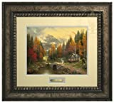 The Valley of Peace - Thomas Kinkade Prestige Home Collection (Silver Frame)
