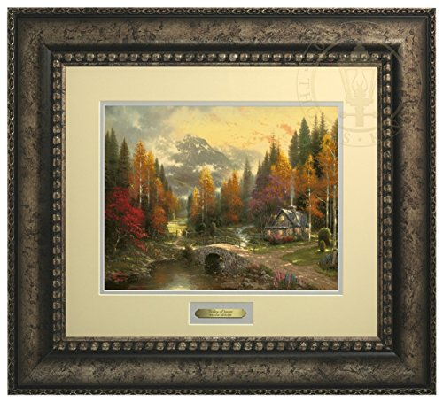 The Valley of Peace - Thomas Kinkade Prestige Home Collection (Silver Frame) by Thomas Kinkade