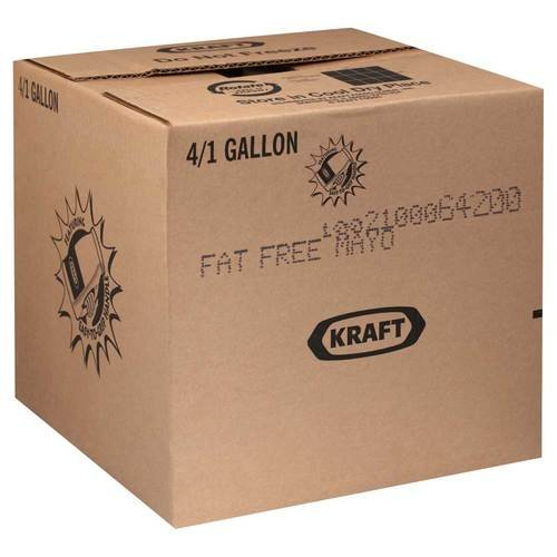 Mayonnaise Kraft Free Mayonnaise 4 Case 1 (Kraft Fat Free Mayonnaise)
