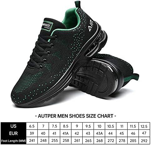51XvkRc9nRS. AC Autper Mens Air Athletic Running Tennis Shoes Lightweight Sport Gym Jogging Walking Sneakers US 6.5-US12.5    Product Description