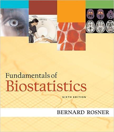 Fundamentals Of Biostatistics 9780534418205 Medicine