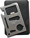 Guardman 11 in 1 Beer Opener Survival Card Tool Fits Perfect in Your Wallet (1) Gifts for Men