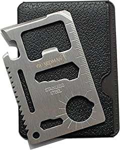 Fathers Day Gifts Guardman 11 in 1 Beer Opener Survival Credit Card Tool Fits Perfect in Your Wallet (1) Father's day Gifts for Dad