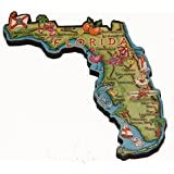 Florida State Decowood Jumbo Wood Fridge Magnet 5