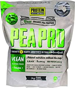 Protein Supplies Australia PeaPro Raw Pea Pure Protein Powder 3 kg ,    , Pure 3 kilograms
