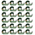 Duck Brand Tape (24 Pack) Clear Tape, Invisible Tape Rolls with Matte Finish Safe for Photo Paper Each with Tape Dispenser