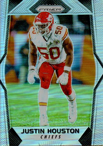 Football NFL 2017 Prizm Prizm #165 Justin Houston Chiefs by