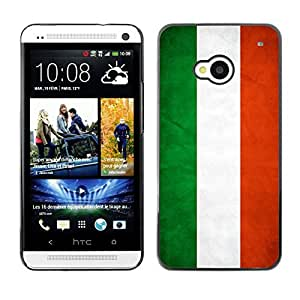 YOYO Slim PC / Aluminium Case Cover Armor Shell Portection //Hungary Grunge Flag //HTC One M7