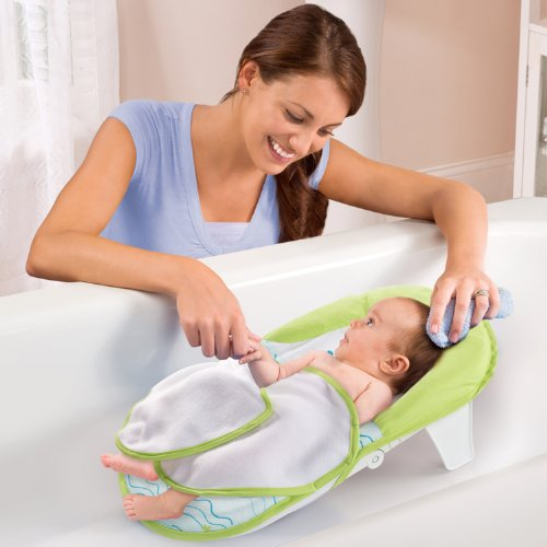 how to use mothercare fabric bath support