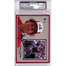 Gary Carter Autographed Signed 1983 Donruss Action Card Montreal Expos - PSA/DNA Certified - Baseball Slabbed Autographed Cards