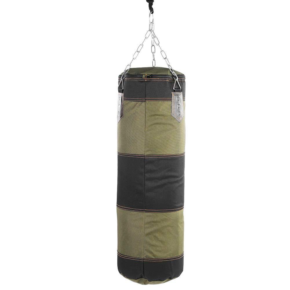 Focket Punch Sandsack /Übung usw Leere Trainingssack Kick Sandsack Kampf Karate Stanzen Sandsack mit PU-Patch Sch/ützen Sie die Hand vor Abnutzung f/ür Gewichtheben
