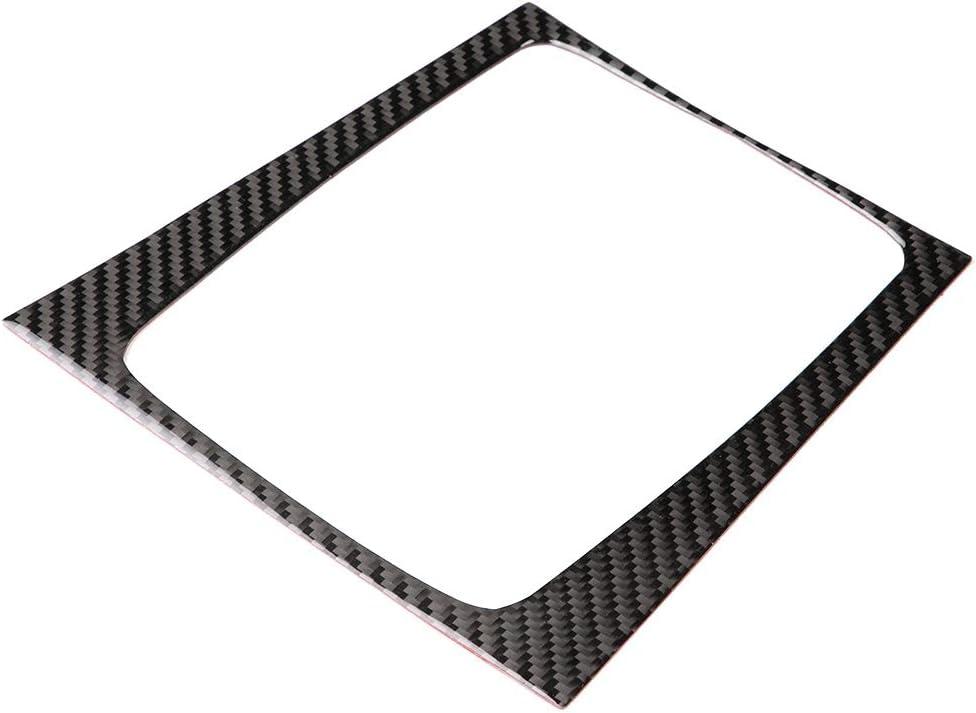 Carbon Fiber Style Trim Acouto Car Interior Gear Shift Panel Frame Trim Cover for C-class W204 2005-201 2