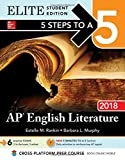 img - for 5 Steps to a 5: AP English Literature 2018, Elite Student Edition book / textbook / text book