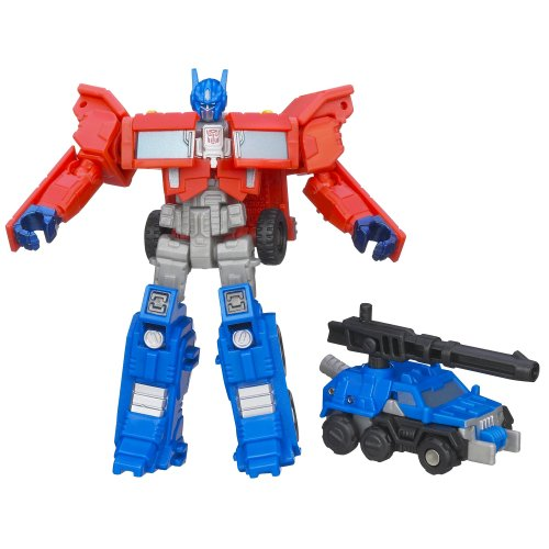 - Transformers Generations Legends Class Optimus Prime and Autobot Roller Figures