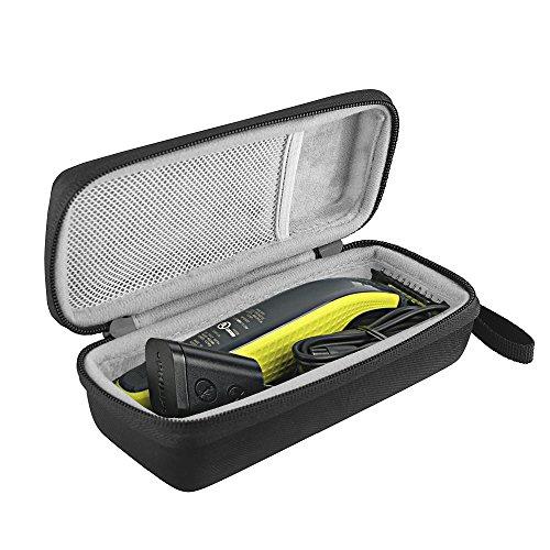 shaver bovke case for philips norelco oneblade mens hybrid electric trimmer and shaver ffp. Black Bedroom Furniture Sets. Home Design Ideas