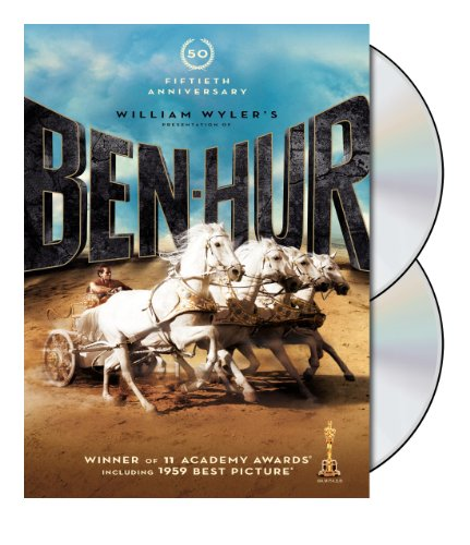 - Ben-Hur: 50th Anniversary Edition (DVD)