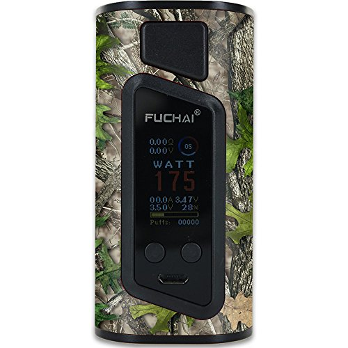 MightySkins Skin Compatible with Sigelei Fuchai Duo-3 Vape (2-Battery Cover) - HTC Green   Protective, Durable, and Unique Vinyl wrap Cover   Easy to Apply, Remove   Made in The USA