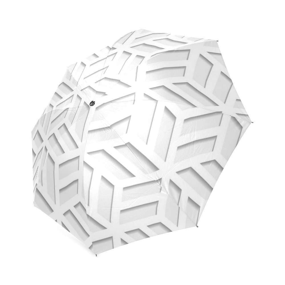 30OFF Japanese Seamless Pattern Cut Out From Paper Design Folding Umbrella Sun Rain Travel