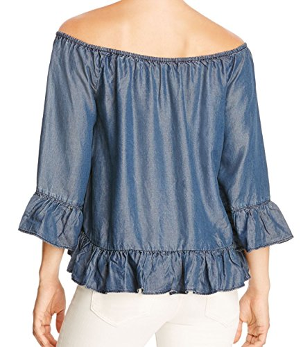 Blusa Para Mujer Para Blusa Azul Azul Sanctuary Sanctuary Sanctuary Para Mujer Blusa pqwzE