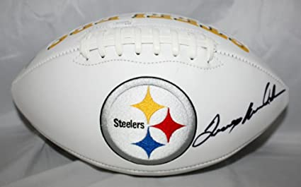 841c054420c Image Unavailable. Image not available for. Color  Terry Bradshaw  Autographed Pittsburgh Steelers ...