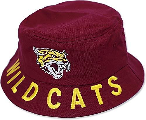 Cultural Exchange Big Boy Bethune-Cookman Wildcats S4 Mens Bucket Hat [Maroon - 59 cm]