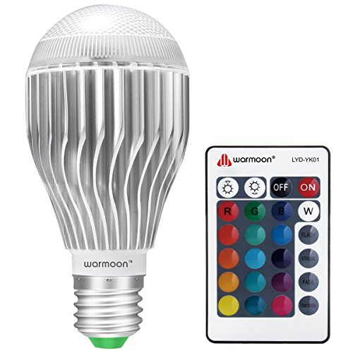 Great LED light bulb with LOTS of different color & tone choices, convenient remote, good quality!