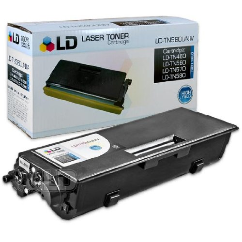 LD © Compatible Brother TN580 High Yield Black Laser Toner Cartridge, Office Central