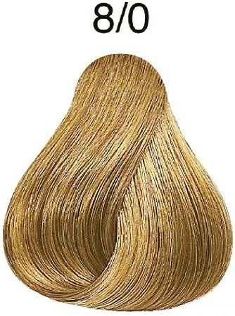 Wella Professionals Koleston - Tinte para cabello (60 ml), 8/00 rubio claro
