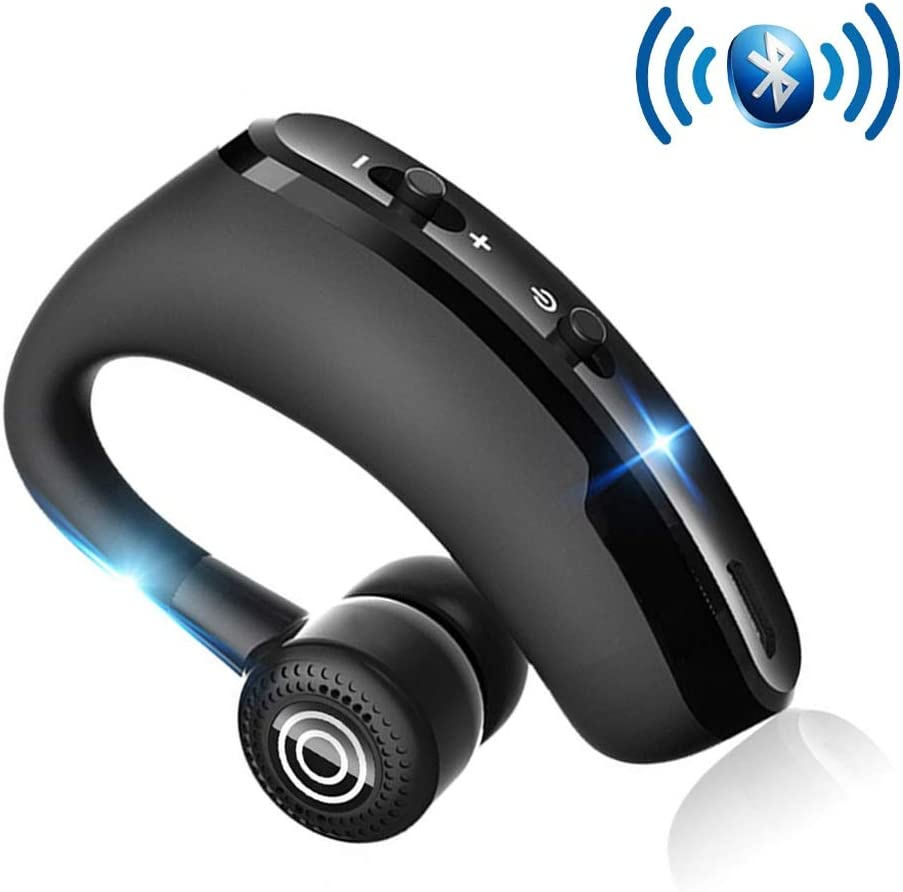 King Boutiques Auriculares Manos Libres Bluetooth Headset Control de Ruidos for iOS Android Controlador de Movimiento