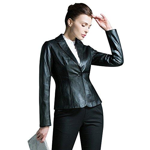 Nappa Leather Blazer - 8