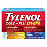 Tylenol Cold + Flu Severe Day & Night Caplets, 72 Caplets