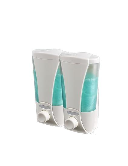 Dispensador de jabón manual Hotel Shampoo de pared Gel de ducha Acondicionador de jabón para las