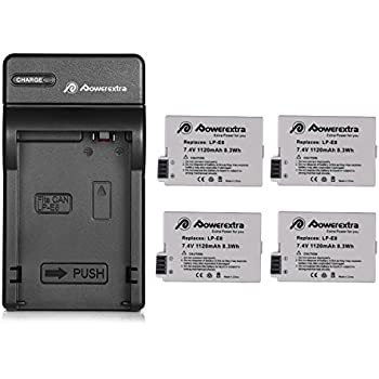 Amazon.com : BESTON 2-Pack LP-E8 Battery Packs and Rapid USB ...