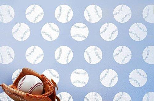 Keen Baseballs Wall Decor Art Decals (40-3 Inch Decals!!!) Boys Room Man Cave Baseball Team Cars Trucks Vans Walls
