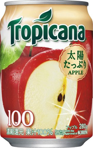 280gX24 this Tropicana 100% apple by Tropicana