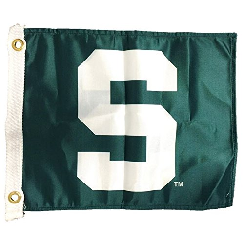 NCAA Michigan State Spartans Boat/Golf Cart Flag