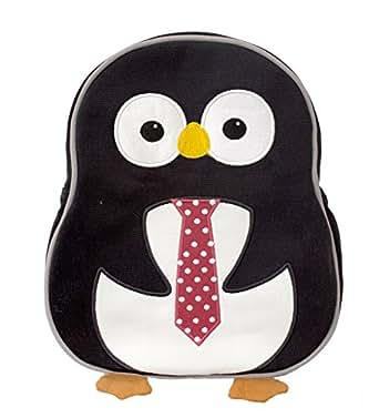 Apple Park Organic Preschool Toddler Backpack - Penguin