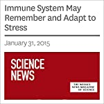 Immune System May Remember and Adapt to Stress | Ashley Yeager