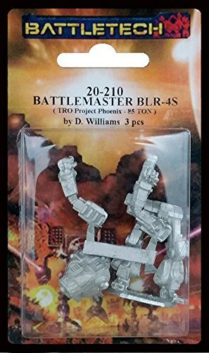 BATTLETECH 20-210 Battlemaster BLR-4S
